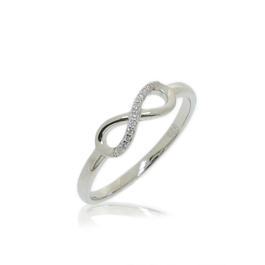 7f5645033288 Anillo infinito plata circonitas jolfer - Joyas