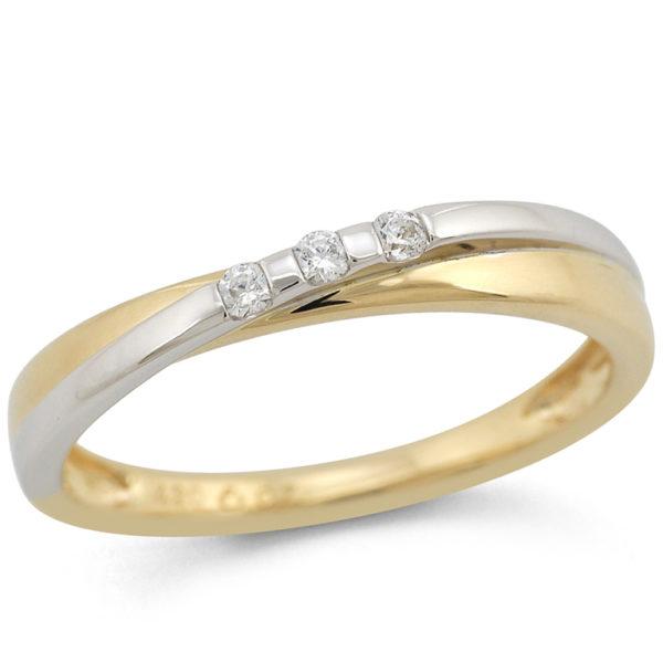 2fd7a5124a6 Anillo compromiso alianza oro blanco oro amarillo diamantes jolfer